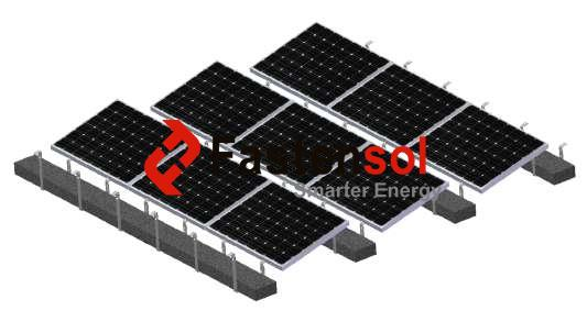 Ballasted Mounting System
