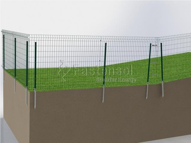 Solar Panel Steel Fences wholesale
