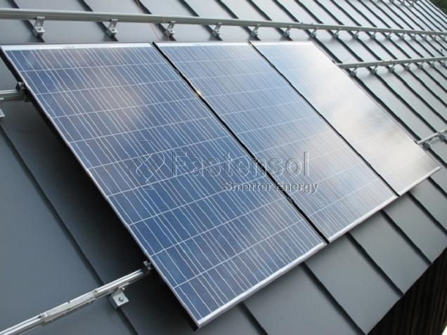 Tin Roof Standing Seam Solar Mounting System